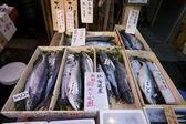 Owoce morza tsukiji rynku tokio — Zdjęcie stockowe