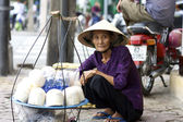Vietnamese Street Vendor — Stock Photo