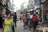 Ho Chi Minh City Street — Stock Photo
