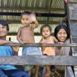 Cambodian Family — Stock Photo