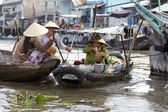 Can Tho Floating Market Vietnam — Stock Photo