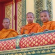 ストック写真: Monks in Cambodiat Pagoda