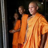 Cambodjaanse monniken — Stockfoto