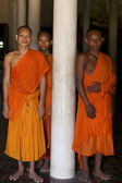 Buddhist Monks in Cambodian — Stock Photo