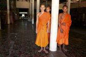 Cambodian Monks — Stock Photo