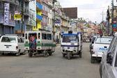 Transportation in Kathmandu — Stock Photo