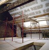Development of an attic — Stock Photo