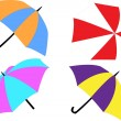 Umbrellas — Stock Vector #8752556