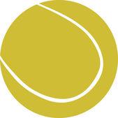 Tennisbal — Stockvector