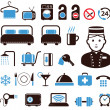 Hotel icons set — Stock vektor #10197870