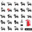 Car service icons, set — Stock Vector #8927239