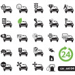 Car service icons, set — Stock Vector #8927242