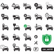 Car service icons, set — Stock Vector #8927261