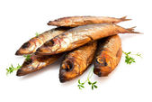 Ryby wędzone — Zdjęcie stockowe