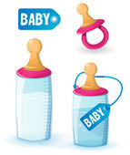 Baby set — Stock Vector