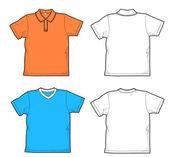 Camisas — Vector de stock