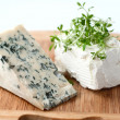 Blue cheese and feta - Stock Photo