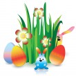 Royalty-Free Stock Imagen vectorial: Easter card
