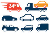 Simplesmente carros — Vetorial Stock