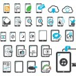 Royalty-Free Stock Vector Image: Icons of modern gadgets