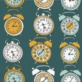 Retro çalar saatler — Stok Vektör