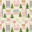Royalty-Free Stock Imagen vectorial: Christmas city