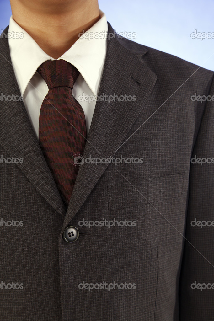 Close up of the man with suit — Stock Photo #8053908