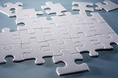 Puzzle pieces — Foto de Stock