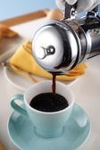 Coffee press — Stock Photo