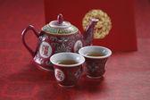Oriental tea pot — Stock Photo
