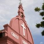 Christ Church Melaka — Stock Photo #8692726