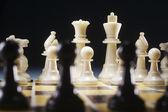 Schackspel — Stockfoto