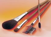 Make-up brushes — Stock Photo