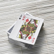 Playing card — Stock Photo