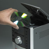 Cd-player — Stockfoto