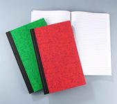 Three log books — Stock Photo