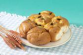 Tasty bun — Stock Photo