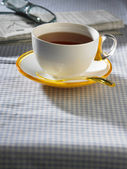 Cup of hot tea — Stock Photo