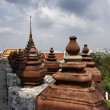 Thailand, Bangkok, Yai District, Arun Temple (Wat Arun Ratchawararam) - Foto Stock