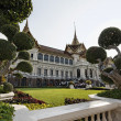 Stock Photo: Thailand, Bangkok, Imperial Palace, Imperial city, facade of Palace and garden