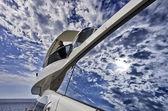 Isola d'elba italia, toscana, lusso yacht azimut 75 — Foto Stock