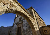 Italy, Sicily, Marzamemi (Siracusa Province), old church — Stock Photo