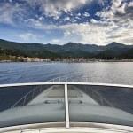 Italy, Tuscany, Elba Island, view of the coastline and Marciana Marina town — Stock Photo #8124864