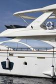 Isola d'elba italia, toscana, lusso yacht azimut 75, flybridge — Foto Stock