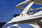 Italy, Tuscany, Elba Island, luxury yacht Azimut 75', flybridge — Stock Photo