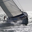 Stock Photo: Italy, Sicily Channel, sailboat