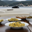 Italy, tortellini with butter and sage (hand made pasta) - Lizenzfreies Foto