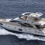 Italy, Mediterranean sea, luxury yacht — Stock Photo #8741272