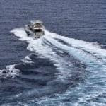 Italy, Mediterranean sea, luxury yacht — Stock Photo #8741419