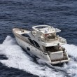 Stock Photo: Italy, Mediterranean sea, luxury yacht